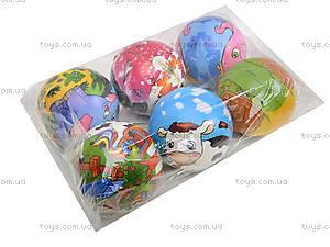 Мяч фомовый, 6 штук, SL669, цена