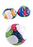 Мяч футбольный размер №2, PVC, 100 грамм (3 цвета), E31209, оптом