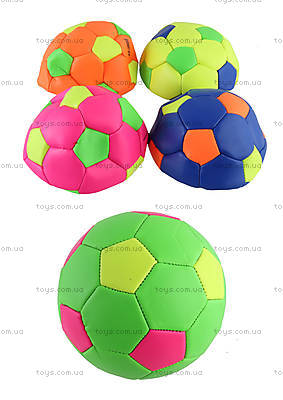 Мяч футбольный №2 (MIX 5 цветов), FB190803