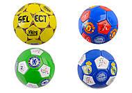 Мяч футбольный 10 видов, C34182, купить