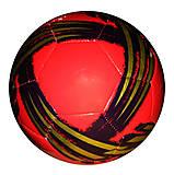 Мяч футбольный 2-х слойный (красный), BT-FB-0185, фото