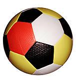 Мяч футбольный 2-х слойный с ниткой (цветной), BT-FB-0184, фото