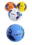 Мяч футбольный Meik, 4 вида, 400 грамм, C34186, Украина
