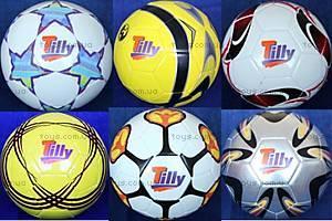 Мяч футбольный, 6 видов, W02-4524