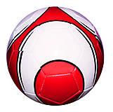 Мяч футбольный (бело-красный), BT-FB-0189, купить