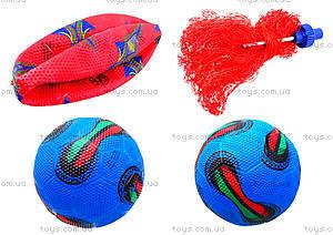 Футбольный мяч, резиновый, BT-FB-0010