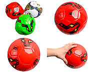 Мяч футбольный цветной, BT-FB-0035