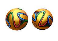 Футбольный мяч для детей, прошитый, BT-FB-0042, toys