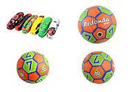 Мяч футбольный резиновый, в ассортименте, BT-FB-0208, отзывы