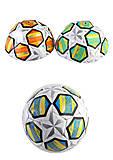 Мяч футбольный BT-FB-0234 PVC 340г (3 цвета), BT-FB-0234, доставка