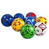 Мяч футбольный BT-FB-0293 PVC 260г, 10 видов, BT-FB-0293, купить
