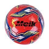 """Мяч футбольный """"Meik"""" красного цвета , C44430, toys"""