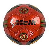 """Мяч футбольный """"Meik"""" красный, C40048, набор"""