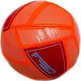 Мяч футбольный оранжево-красный, BT-FB-0114, отзывы