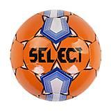 Мяч футбольный  оранжевый в пакете, C40066