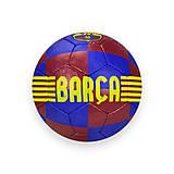 Мяч футбольный Barca №5, PU, 420 грамм, FP011, фото