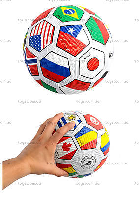 Мяч футбольный «Флаги мира», SPR3001-4