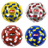 Мяч футбольный размер №5 (4 цвета) материал EVA Laser, C40071, фото