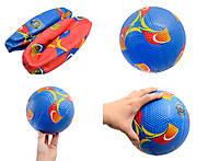 Мяч футбольный резиновый «гольф», GC038008