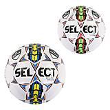 """Мяч футбольный """"Select"""" (2 вида) материал PVC , C40067, купить"""
