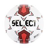 Мяч футбольный «Селект» бело-красный размер 5, C40065, фото