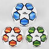 Мяч футбольный 4 вида, PU, баллон резиновый (C44421), C44421, фото