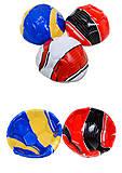 Мяч футбольный трехцветный, BT-FB-0095, фото