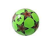 Мяч футбольный зеленый , R300