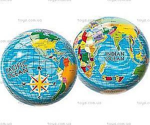 Мяч Карта мира, 23 см, 2400