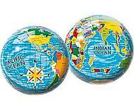 Мяч Карта мира, 23 см, 2400, фото
