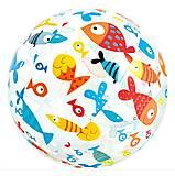 Мяч надувной 51 см «Рыбки», 59040, toys.com.ua