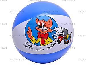 Мяч надувной «Кот Леопольд», 4037-1, фото