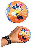 Мяч обтянутый тканью с рисунком «Микки Маус», V05017