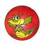 Мяч перламутровый красный Дракоша, F21994, купить