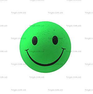 Мяч-попрыгун «Смайл» зеленый, R359