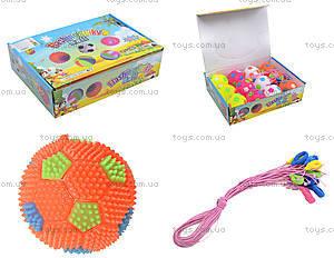 Детский мяч-попрыгунчик, 12 штук, SL688