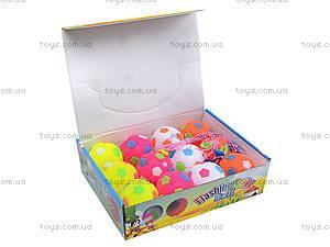 Детский мяч-попрыгунчик, 12 штук, SL688, игрушки