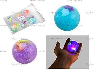 Мяч-попрыгунчик, для детей со светом, BT-JB-0002