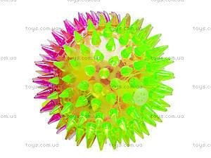 Мячик с подсветкой «Ёжик», SL626, купить