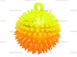 Мячик с подсветкой «Ёжик», SL626, фото