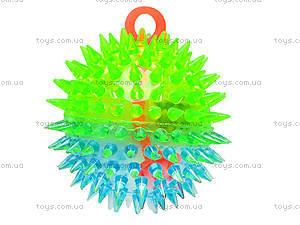 Мячик с подсветкой «Ёжик», SL626, цена