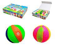 Мяч-попрыгунчик со световыми эффектами, SL658, отзывы