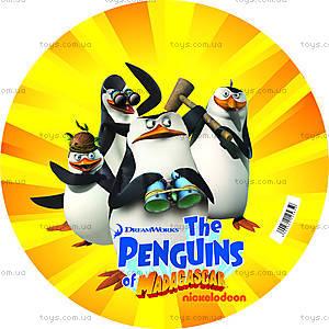 Детский мяч «Пингвины из Мадагаскара», 23 см, 2618