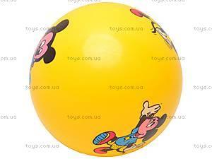 Мяч резиновый детский, с рисунком, PN9-6, купить
