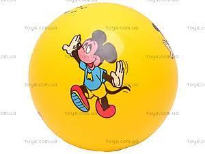 Мяч резиновый детский, с рисунком, PN9-6