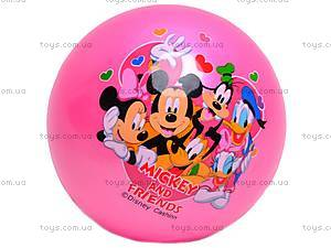 Мяч резиновый Mickey Mouse, AD-6