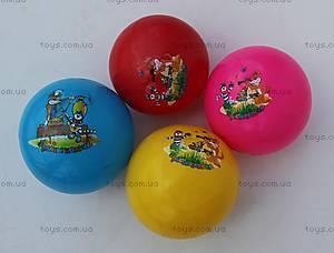 Мяч резиновый «Мультфильмы», W02-3112(W02-