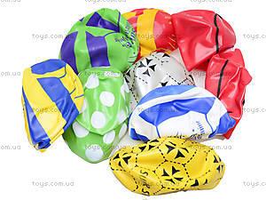 Мяч резиновый с декором, 004..008..016