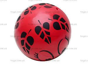 Мяч резиновый с декором, 004..008..016, цена