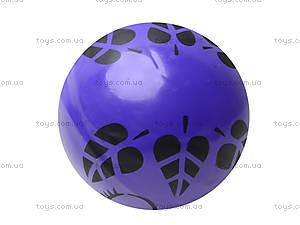 Мяч резиновый с декором, 004..008..016, магазин игрушек